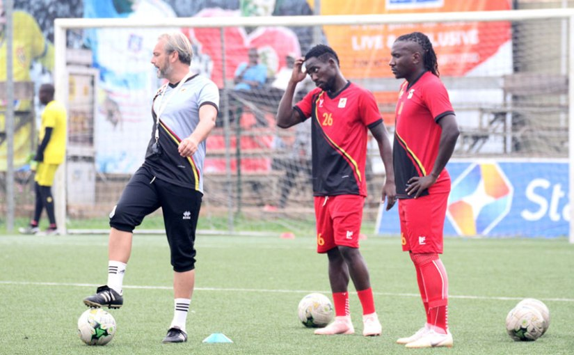 Afcon qualifier:  Desabre calls 31 local players to compete for nine slots
