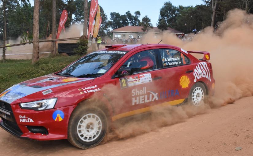 Ssebuguzi wins CMC rally Super SpecialStage