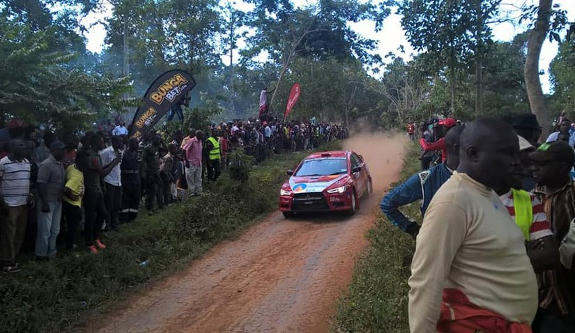 CMS Rally: Sebuguzi sweeps day one as Fitidis rares to go