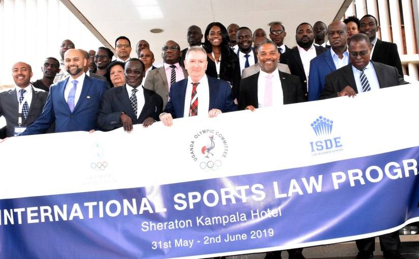 Justice Adonyo opens Sports Lawworkshop