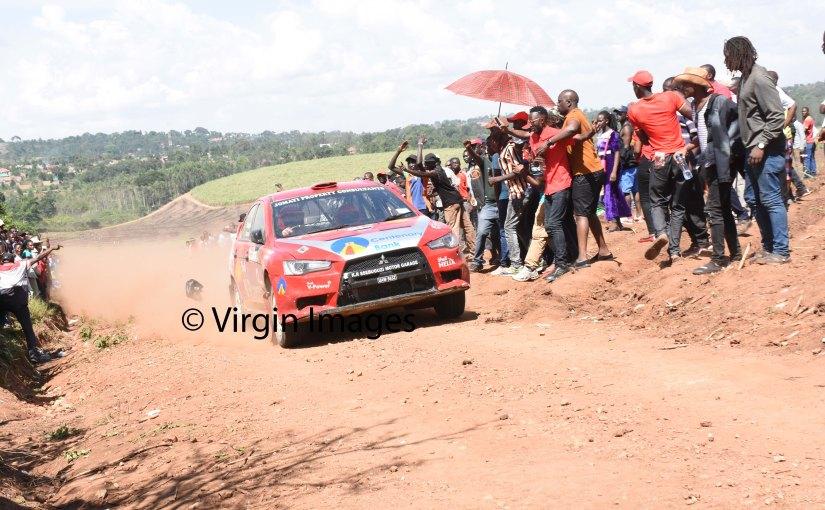 Ford and Hyundai WRC teams forSafari
