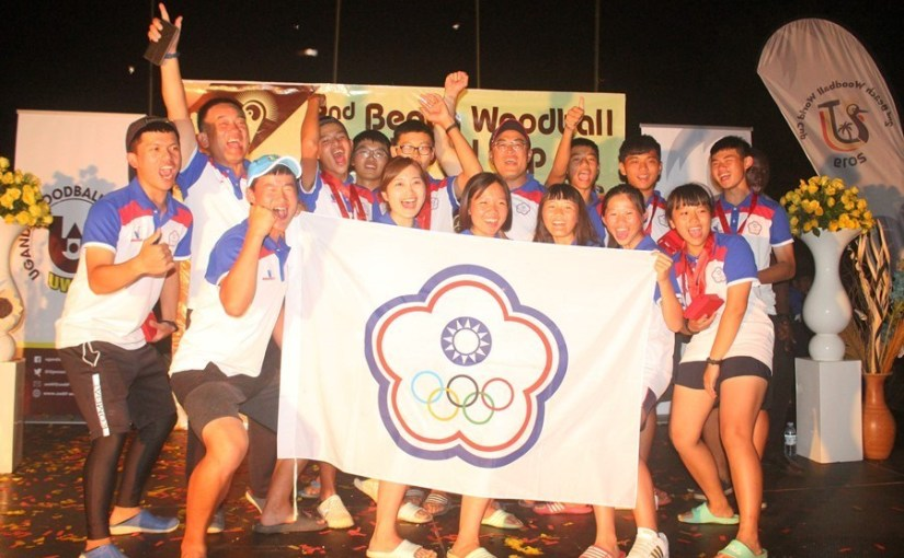 Chinese Taipei are Beach Woodball  World Cup Champions