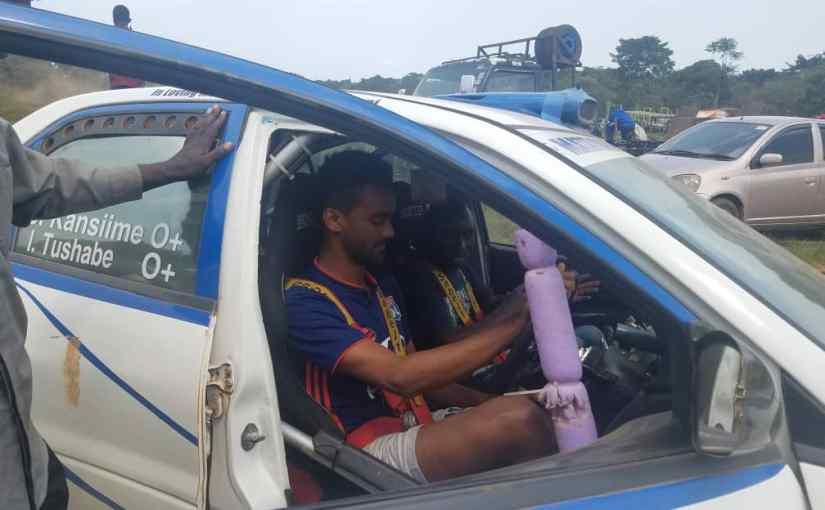 Maxime in Ambulancedrive