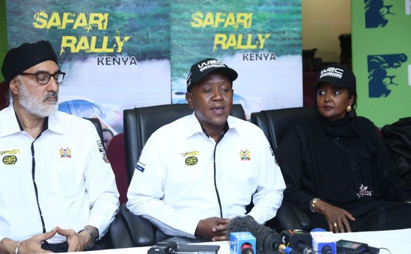 Safari rally is a WRCevent