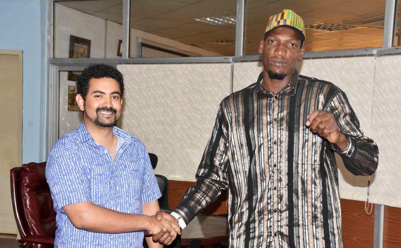 IUEA boosts Kiwanuka