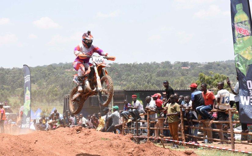 Motocross battles on