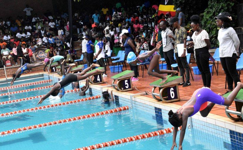 Schools swimming gala