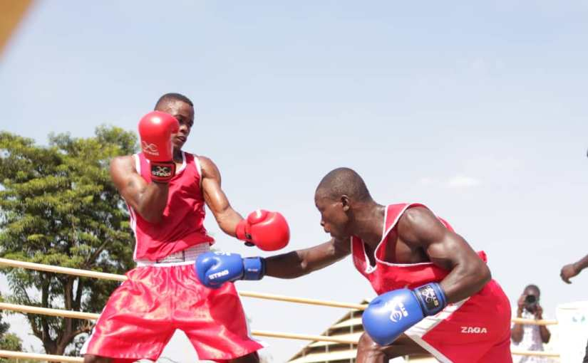 Boxing Olympics trials in Pictures